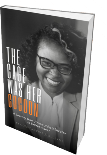 The Cage Was Her Cocoon - Book Cover Image